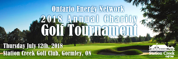 2018 Ontario Energy Network Charity Golf Tournament